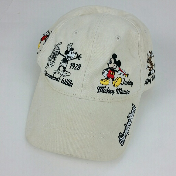 e1a62e148b7d0 Disney Accessories - Disney Parks Mickey Through The Years Baseball Hat